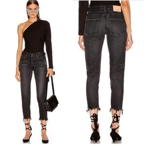 MOUSSY VINTAGE Staley Tapered Black Jeans SIZE 27